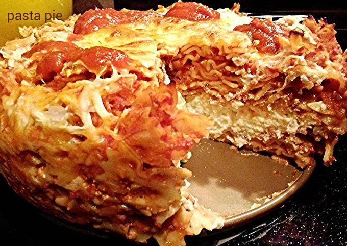 Easiest Way to Make Yummy Pasta pie