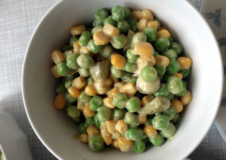 Simple Way to Prepare Quick Simple pea and corn salad
