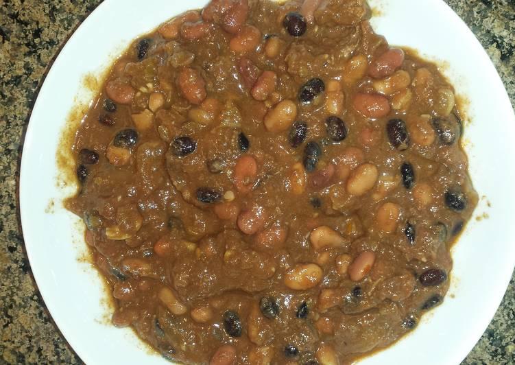 3 bean chili con carne