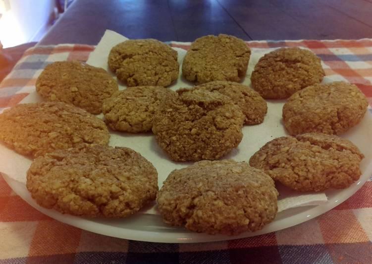 Sweet Vegan Apple-oatmeal Scones