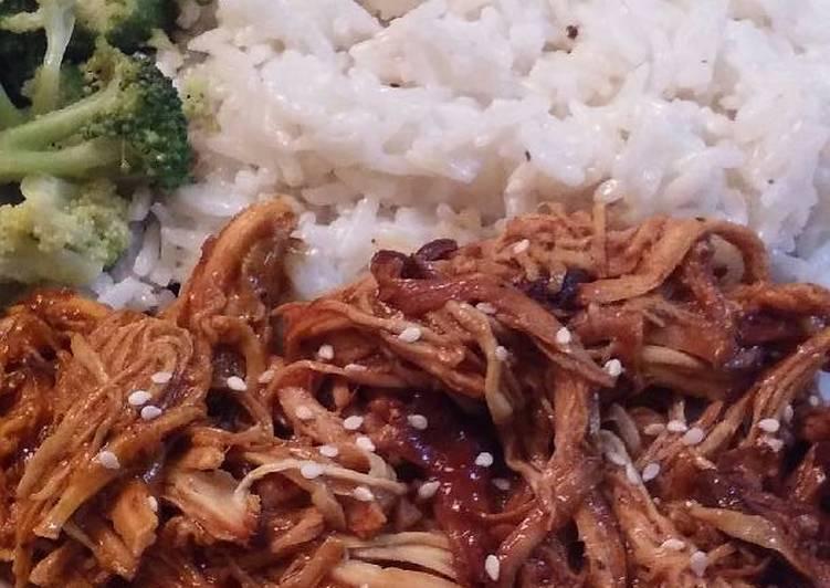 Honey Garlic Chicken - Slow Cooker