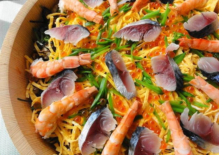 The Best Soft and Chewy Dinner Ideas Any Night Of The Week Chirashi Sushi (Sushi for Dolls' Day)