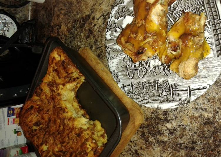 Simple Way to Make Super Quick Homemade Momma's Bread Pudding