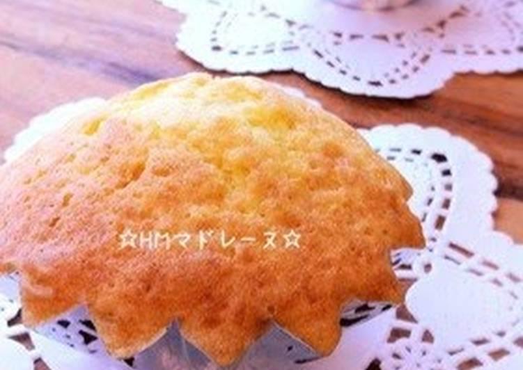 Pancake Mix Madeleines
