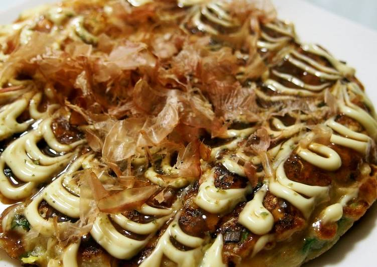 Our Family's Okonomiyaki Made with Flour