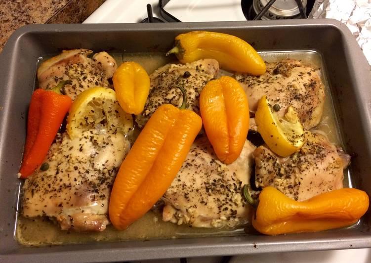How to Make Perfect J's lemon pepper chicken