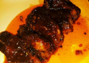 Easiest Way to Prepare Appetizing Sweet and Spicy Chicken Drumlets