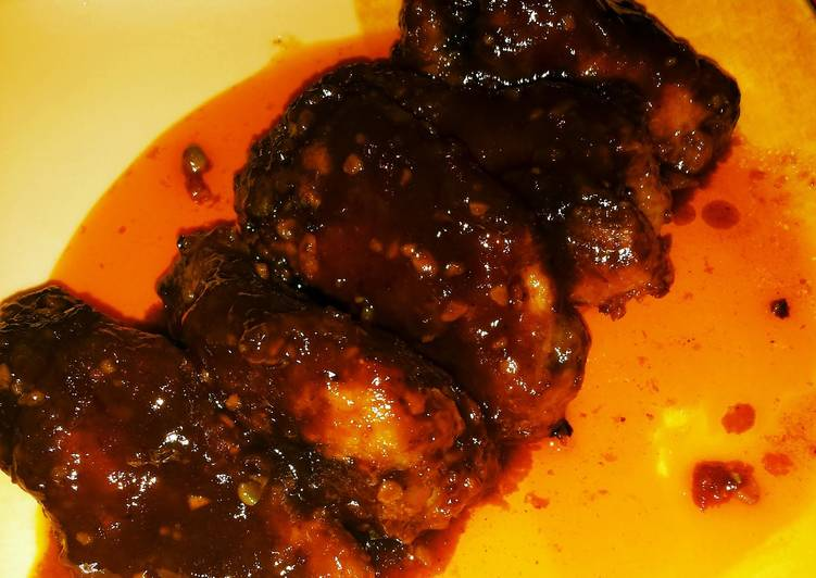 Easiest Way to Prepare Perfect Sweet and Spicy Chicken Drumlets