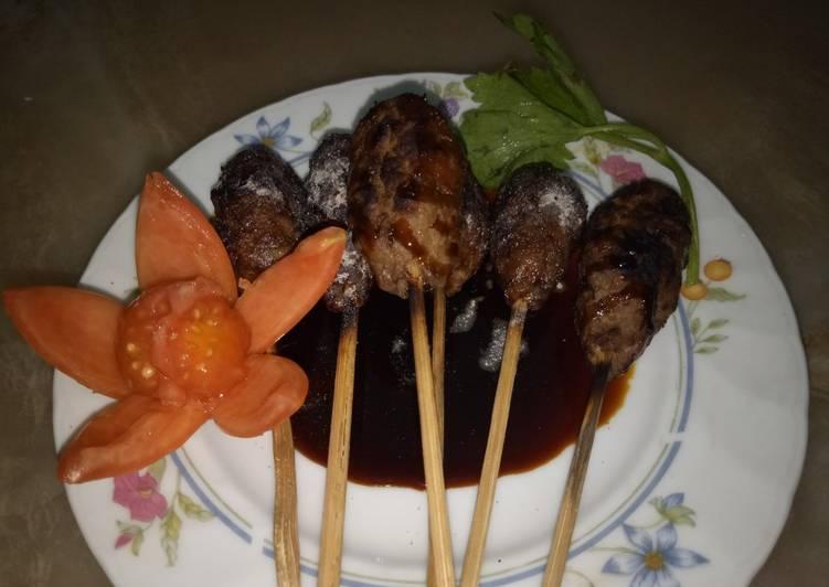 Sate kambing cincang