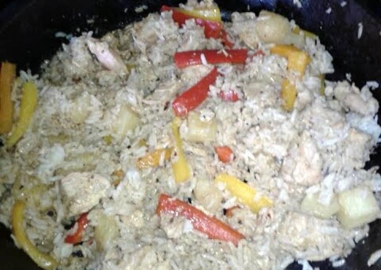 Recipe: Delicious Island Rice and Chicken