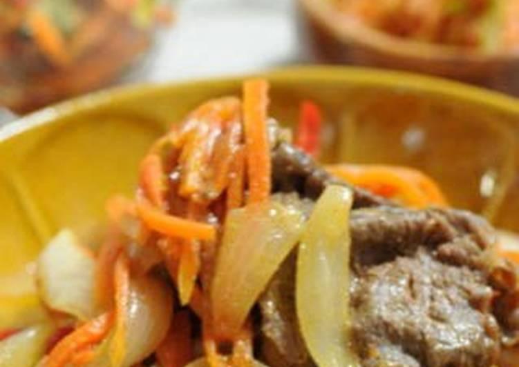Bulgogi-style Beef Offcuts Stir-fry