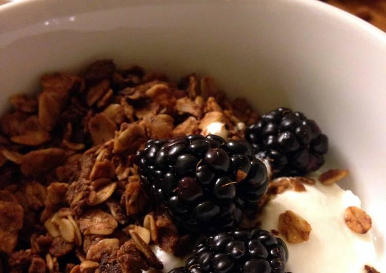 Easiest Way to Make Award-winning Nut Fruit Muesli