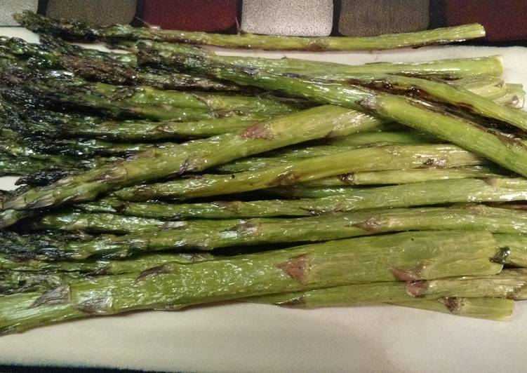 Recipe of Perfect Roasted asparagus
