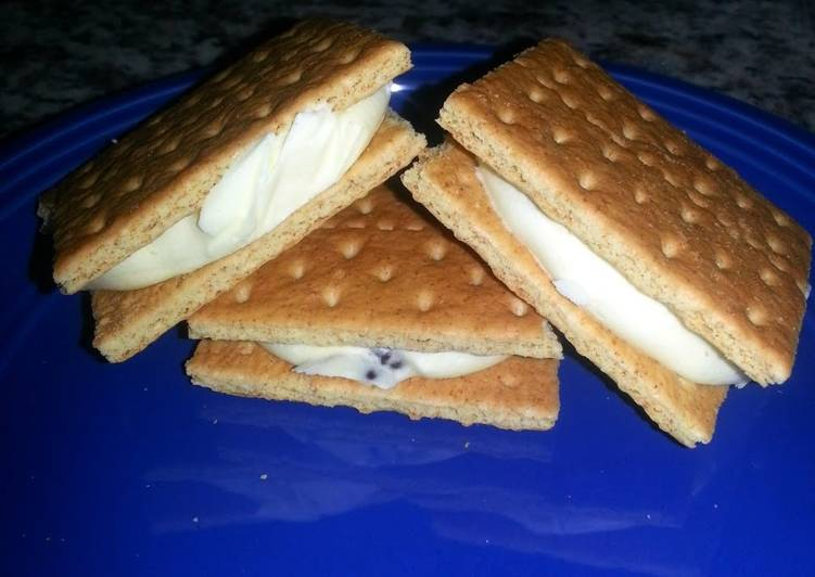 Easy Homemade Ice cream Sandwich