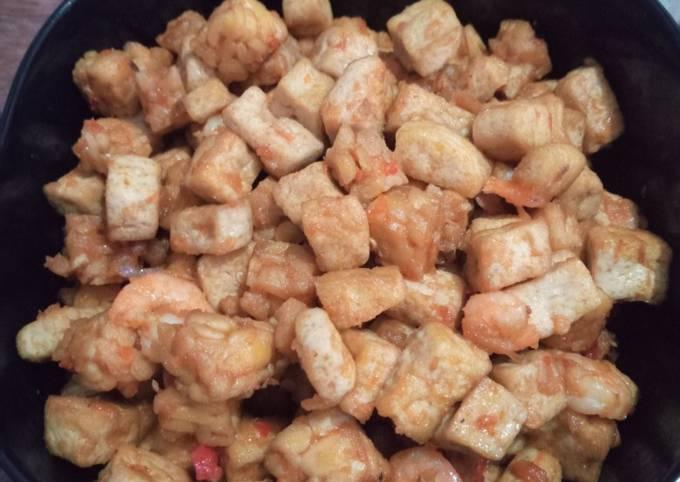 sambal goreng tahu tempe udang bumbu simple - resepenakbgt.com