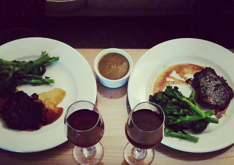 Soy, Maple & Chipotle Chilli Steaks with Tender Stem Broccoli
