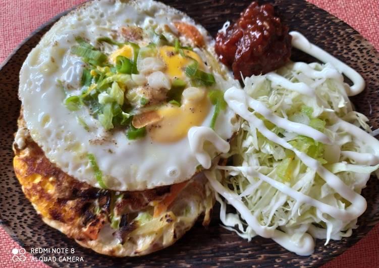 Martabak Telur ala Korea simpel