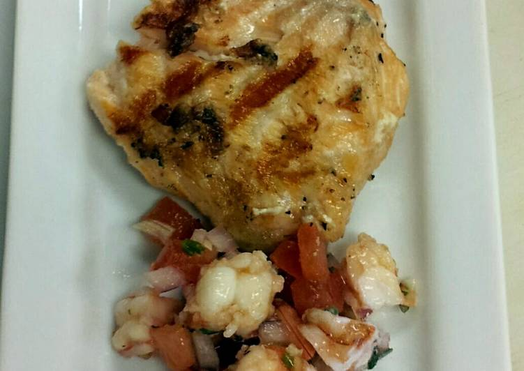 How to Make Yummy Shrimp Salsa