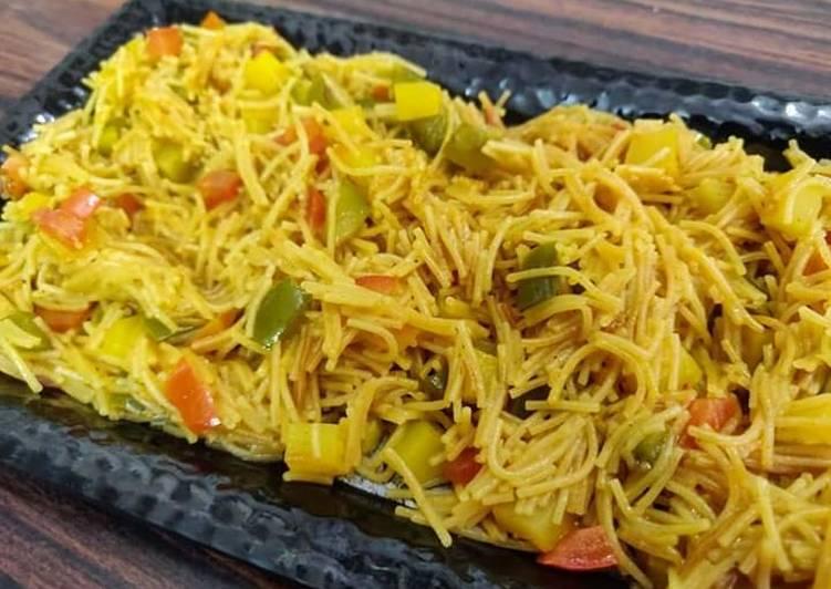 Recipe of Favorite VegetablesVermicelli upma