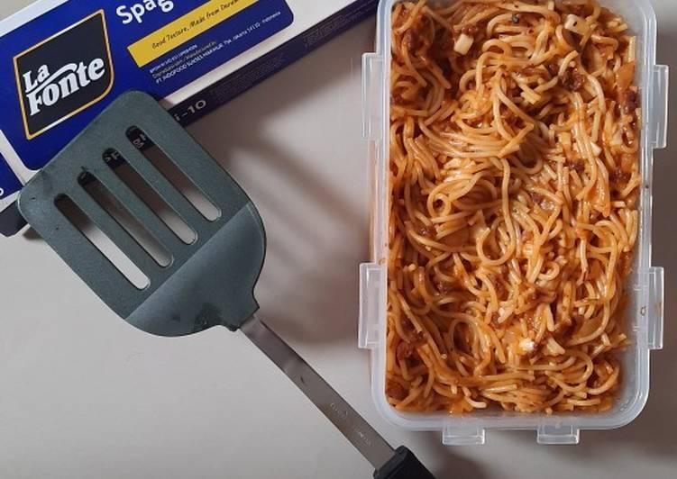 Spaghetti Bolognese La Fonte