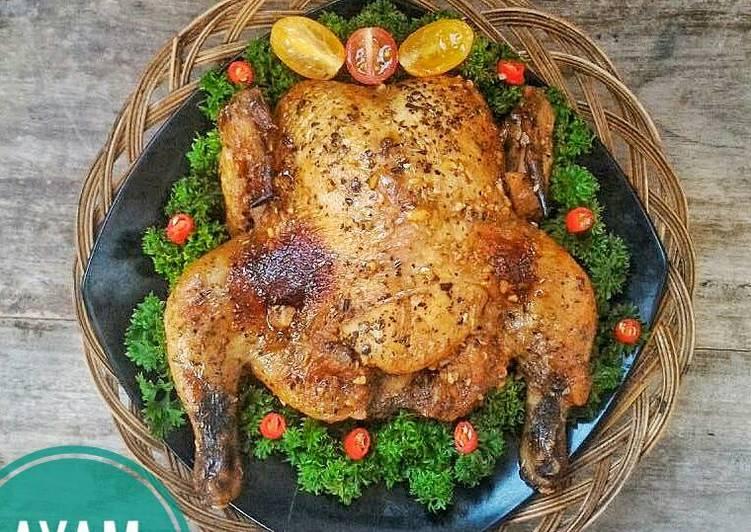 Ayam Panggang Simpel