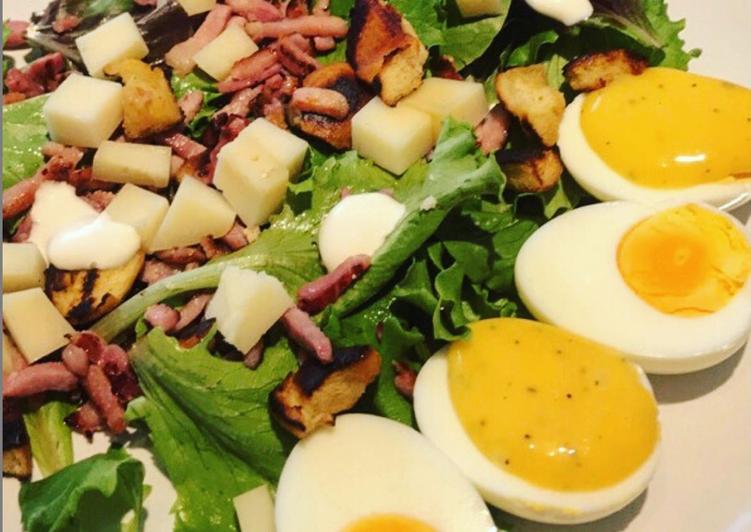 Salade estivale composée