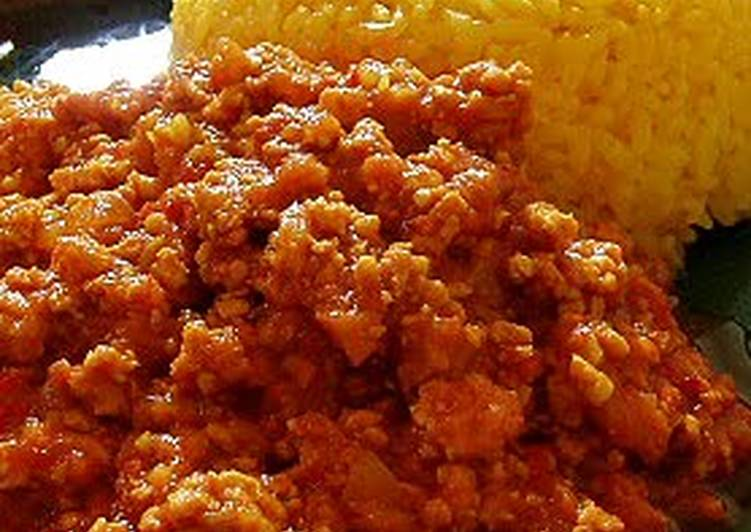 Butter Keema Curry (Ground Chicken and Spices) Choosing Wholesome Fast Food