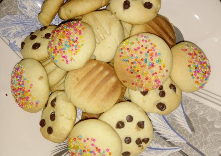 Easiest Way to Make Perfect Butter cookies