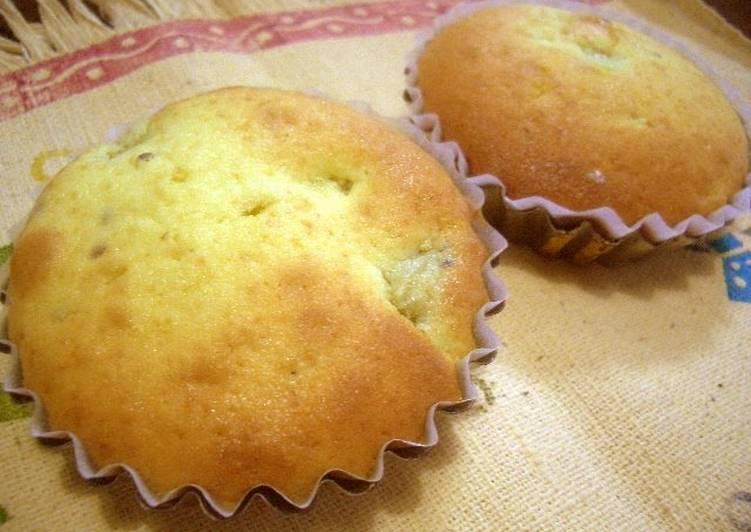 Recipe of Perfect Fluffy Kiwi Madeleine