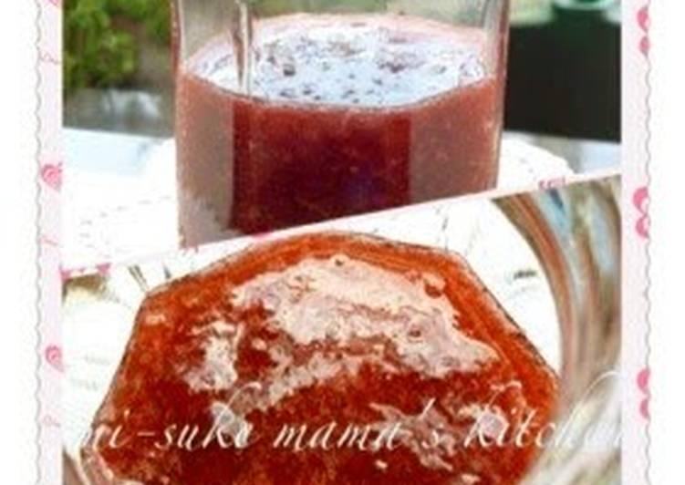 Frozen Strawberry Jam