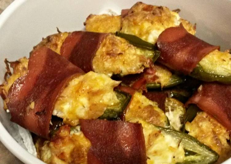 Stuffed Jalapeños wrapped in Turkey bacon, Heart Friendly Foods You Should Eat