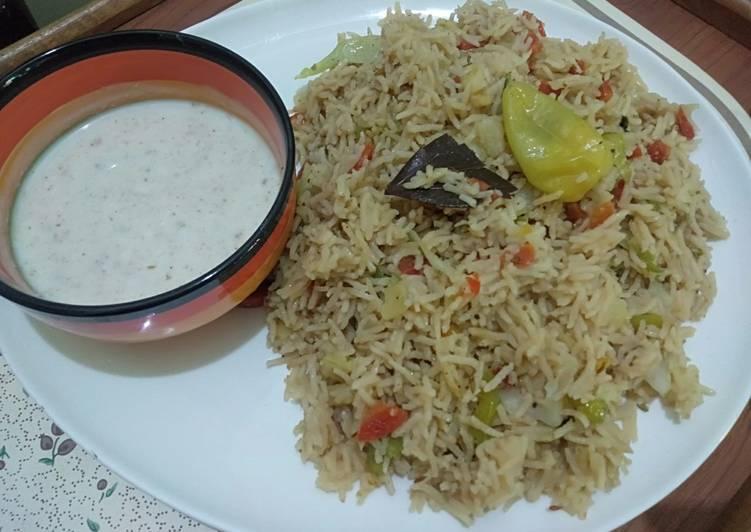 Mix Vegetables Rice