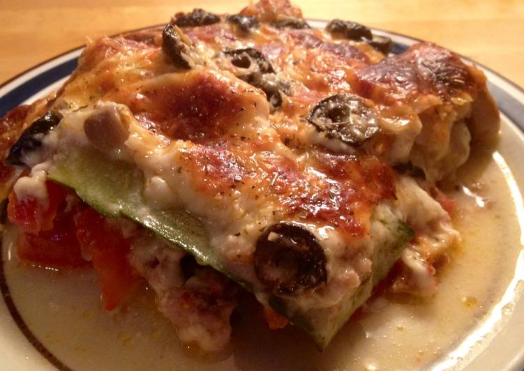 New Secret Zucchini And Sausage Lasagna Free Download