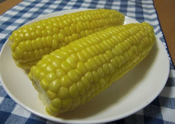 How to Make Yummy My Family's Microwaved Corn on the Cob