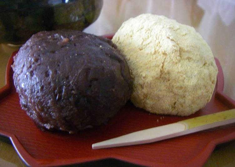 Going Green for Good Health By Consuming Superfoods Our Family Recipe for Ohagi, Passed Down Over Three Generations