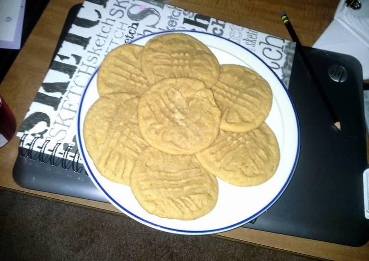 Peanut Butter Cookies (: