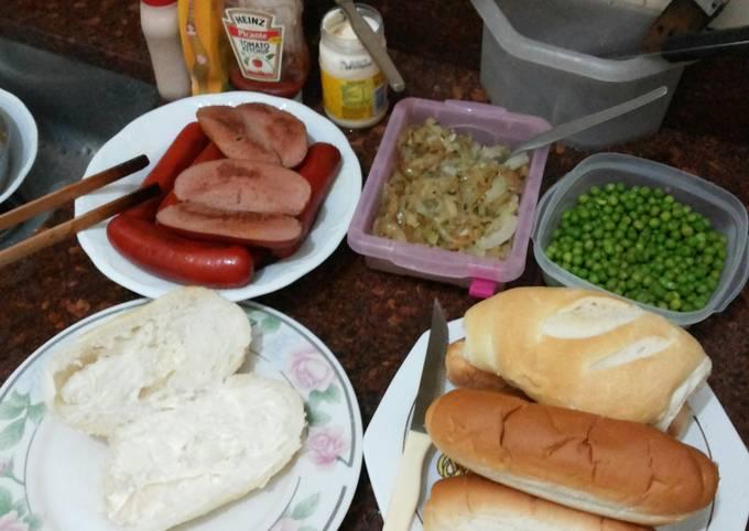 Vienne sausage Brazilian hotdog