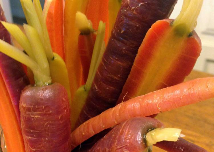 Quick Pickle Carrots