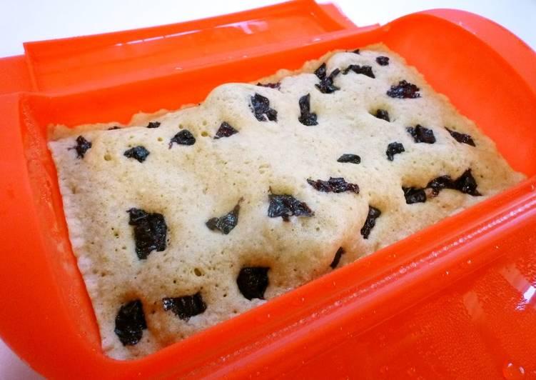 Soy Milk Bread in a Silicone Steamer