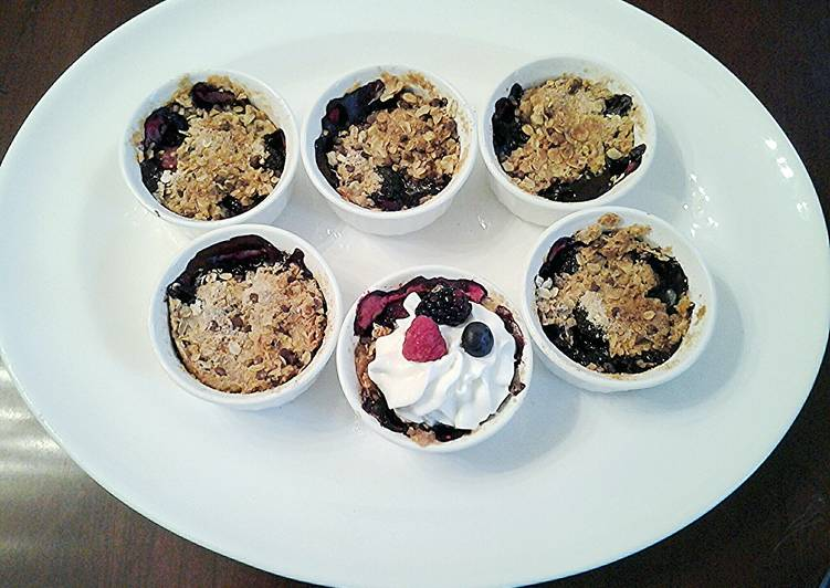 Recipe of Top-Rated Pick a Berry Crisp