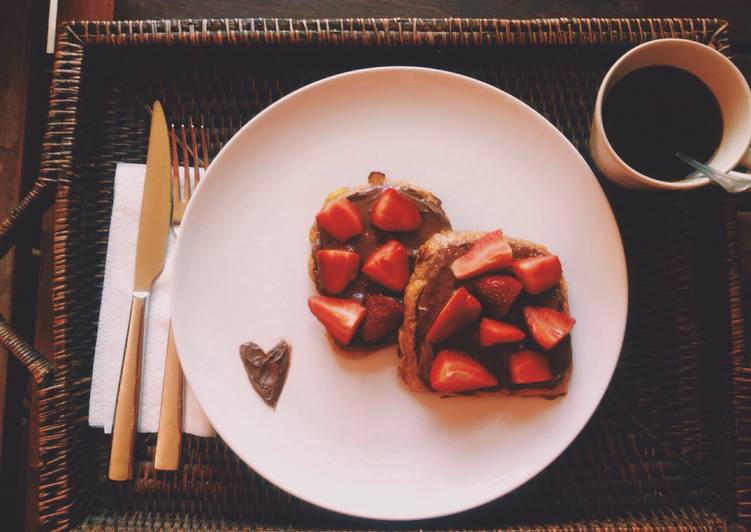 Nutella's French Toast