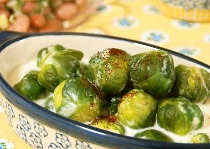 Brussels Sprouts with Cream
