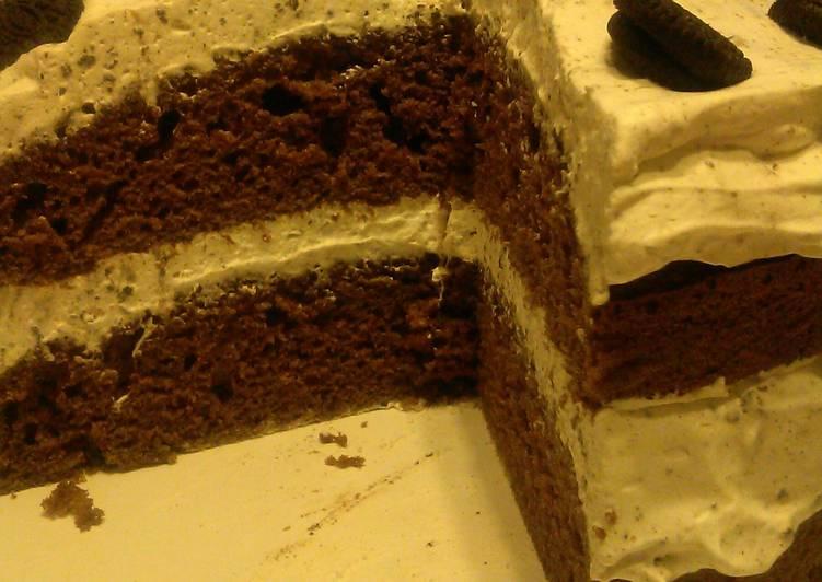 Cookies ' n Cream Torte