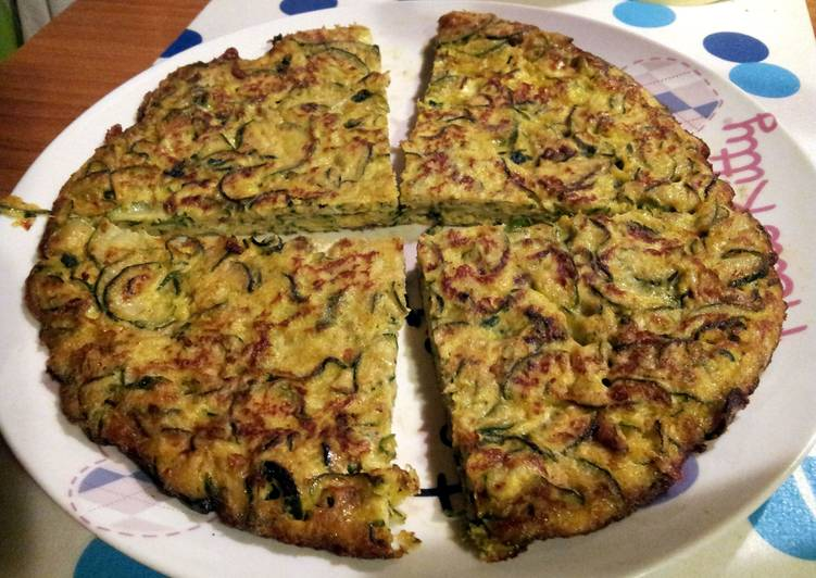 Easy Homemade AMIEs Delicious Zucchini Pancake Recipe