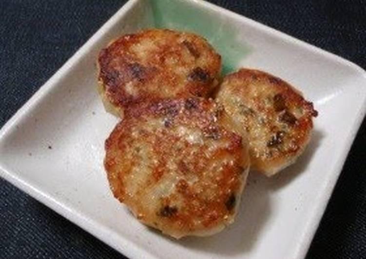 Ground Chicken Miso Tsukune Patties