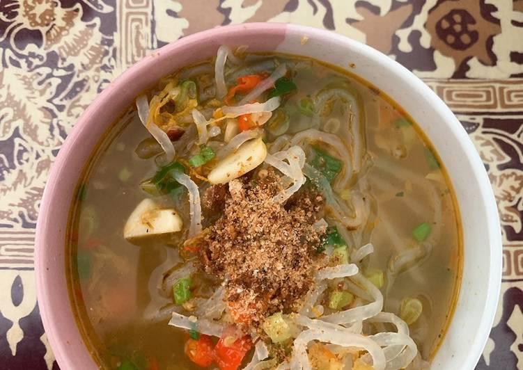 Resep Indomie Kuah Shirataki Favorit