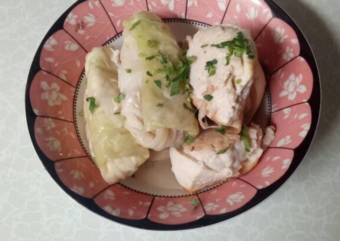 Yong Tofu Ayam - menu diet