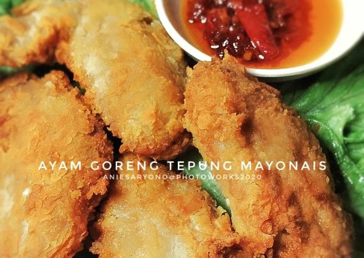 Ayam Goreng Tepung Mayonais