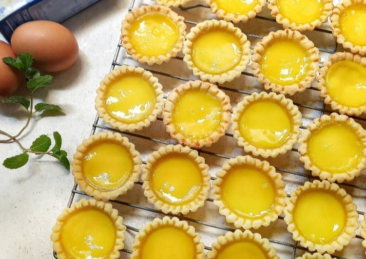 Resep Egg tart (kue pie susu) Paling Mudah