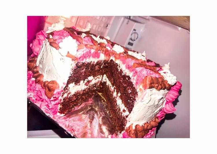 Resep: Lezat Birthday Cake Simple